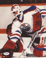 Grant Fuhr Signed Oilers 8x10 Photo (PSA COA) at PristineAuction.com