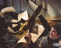 "Michael Winslow & Joe Dante Signed ""Gremlins"" 8x10 Photo (Beckett COA) at PristineAuction.com"