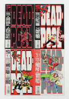 """Set of (4) 1993 """"Deadpool"""" Marvel Comic Books with #1-4 at PristineAuction.com"""