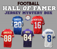 Schwartz Sports Football Hall of Famer Signed Football Jersey Mystery Box - Series 17 (Limited to 100) at PristineAuction.com