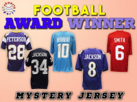 Schwartz Sports Football Award Winner Signed Jersey Mystery Box – Series 3 (Limited to 100) (ALL JERSEYS ARE OF FOOTBALL AWARD WINNERS!!!) at PristineAuction.com
