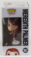"""Kate Flannery Signed """"The Office"""" - Meredith Palmer #1007 Funko Pop! Vinyl Figure Inscribed """"Meredith"""" (PSA Hologram) at PristineAuction.com"""