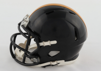 Pat Freiermuth Signed Steelers Speed Mini Helmet (Beckett Hologram) at PristineAuction.com