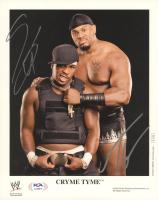 JTG & Shad Gaspard Signed WWE 8x10 Photo (PSA COA) at PristineAuction.com