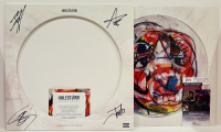 """""""ReAnimate 3.0: The Covers EP"""" EP Cover Signed by (4) with Lzzy Hale, Arejay Hale, Josh Smith, & Joe Nessinger (JSA COA) at PristineAuction.com"""