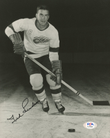 Ted Lindsay Signed Red Wings 8x10 Photo (PSA COA) at PristineAuction.com