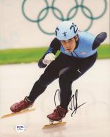 Apolo Ohno Signed Team USA 8x10 Photo (PSA COA) at PristineAuction.com