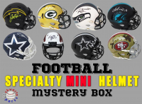 Schwartz Sports Football SPECIALTY Mini Helmet Signed Mystery Box - Series 12 (Limited to 150) (ALL MINI HELMETS ARE SPECIALTY STYLES!!) at PristineAuction.com