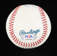 Mike Trout Signed OML Baseball (PSA Hologram) at PristineAuction.com