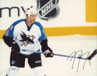 Joe Thornton Signed Sharks 8x10 Photo (PSA COA) at PristineAuction.com