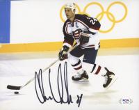 Chris Chelios Signed Team USA 8x10 Photo (PSA COA) at PristineAuction.com