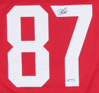 Sidney Crosby Signed Team Canada Jersey with 2016 World Cup of Hockey Patches (PSA Hologram) at PristineAuction.com