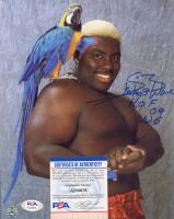 "Koko B. Ware Signed WWE 8x10 Photo Inscribed ""H.O.F. 09 WWE"" (PSA COA) at PristineAuction.com"