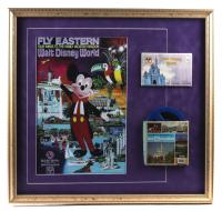 Walt Disney World 24x26 Custom Framed Print Display with Photograph Portfolio & Film Reel at PristineAuction.com