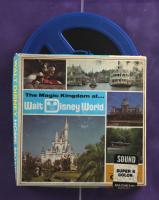 Walt Disney World 24x26 Custom Framed Print Display with Photograph Portfolio & Vintage 8mm Souvenir Film Reel at PristineAuction.com