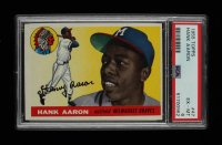 Hank Aaron 1955 Topps #47 (PSA 6) at PristineAuction.com