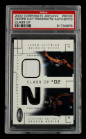 Jared Jeffries / DaJuan Wagner 2002-03 Hoops Hot Prospects Class Of Jerseys #12 Proof (PSA Encapsulated) at PristineAuction.com
