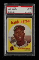 Hank Aaron 1959 Topps #380 (PSA 4) at PristineAuction.com