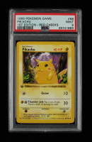 Pikachu 1999 Pokemon Base 1st Edition #58 - Red Cheeks (PSA 9) at PristineAuction.com