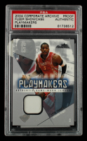 Steve Francis 2004-05 Fleer Showcase Playmakers Jerseys #SF Proof (PSA Encapsulated) at PristineAuction.com