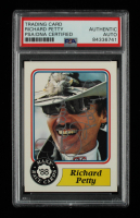 Richard Petty Signed 1988 Maxx Charlotte #43 RC (PSA Encapsulated) at PristineAuction.com