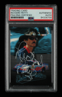 Richard Petty Signed 1997 Ultra Shoney's #15 (PSA Encapsulated) at PristineAuction.com