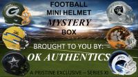 OKAUTHENTICS Football Mini Helmet Mystery Box Series XI at PristineAuction.com