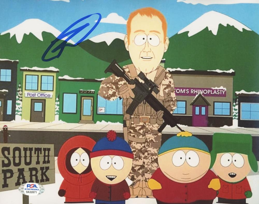 """Robert O'Neill Signed """"South Park"""" 8x10 Photo (PSA Hologram) at PristineAuction.com"""