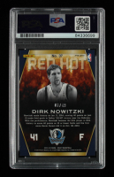 Dirk Nowitzki Signed 2013-14 Select Red Hot Prizms Blue #37 #3/49 (PSA Encapsulated) at PristineAuction.com