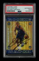 Dirk Nowitzki Signed 1998-99 Upper Deck Encore #122 RC (PSA Encapsulated) at PristineAuction.com