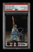 Dirk Nowitzki Signed 1998-99 Stadium Club #109 RC (PSA Encapsulated) at PristineAuction.com
