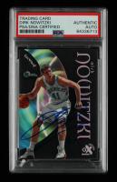 Dirk Nowitzki Signed 1998-99 E-X Century #68 RC (PSA Encapsulated) at PristineAuction.com