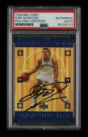 Dirk Nowitzki Signed 1998-99 Upper Deck #320 RC (PSA Encapsulated) at PristineAuction.com
