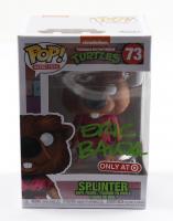 """Eric Bauza Signed """"Teenage Mutant Ninja Turtles"""" #73 Splinter Funko Pop! Vinyl Figure (PSA Hologram) at PristineAuction.com"""