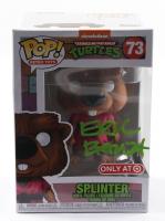 "Eric Bauza Signed ""Teenage Mutant Ninja Turtles"" #73 Splinter Funko Pop! Vinyl Figure (PSA COA) at PristineAuction.com"