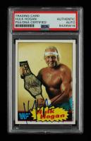 Hulk Hogan Signed 1985 Topps WWF #1 (PSA Encapsulated) at PristineAuction.com