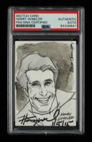 "Henry Winkler Signed 2011 Leaf Sketch Card National Convention Edition Inscribed ""1/15/15"" (PSA Encapsulated) at PristineAuction.com"