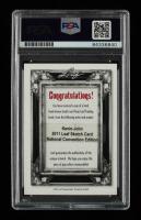 Jason Alexander Signed 2011 Leaf Sketch Card National Convention Edition (PSA Encapsulated) at PristineAuction.com