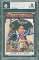 """Chevy Chase Signed """"Three Amigos"""" Custom Card (BGS Encapsulated) at PristineAuction.com"""