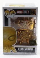 """Eric Bauza Signed """"Marvel Studios"""" #440 Iron Spider Funko Pop! Vinyl Figure (PSA COA) at PristineAuction.com"""