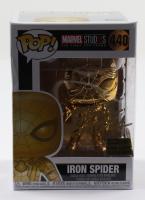 "Eric Bauza Signed ""Marvel Studios"" #440 Iron Spider Funko Pop! Vinyl Figure (PSA Hologram) at PristineAuction.com"