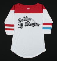 "Margot Robbie Signed ""Suicide Squad"" Harley Quinn Shirt Inscribed ""HQ"" (PSA Hologram) at PristineAuction.com"