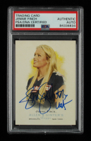 """Jennie Finch Signed 2006 Topps Allen and Ginter #303 Inscribed """"USA"""" (PSA Encapsulated) at PristineAuction.com"""