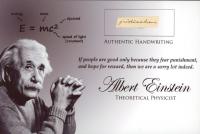Albert Einstein Hand-Written Word (JSA LOA) at PristineAuction.com