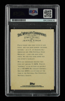 """Jennie Finch Signed 2006 Topps Allen & Ginter #303 Inscribed """"USA"""" (PSA Encapsulated) at PristineAuction.com"""