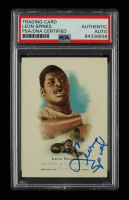 Leon Spinks Signed 2006 Topps Allen and Ginter #313 (PSA Encapsulated) at PristineAuction.com