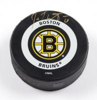 Joe Thornton Signed Bruins Logo Hockey Puck (PSA COA) at PristineAuction.com