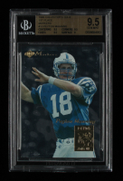 Peyton Manning 1998 Collector's Edge First Place Markers #13 RC (BGS 9.5) at PristineAuction.com