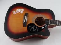Blondie Chaplin Signed Full-Size Acoustic Guitar (JSA COA) (See Description) at PristineAuction.com