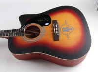 "Randy Travis Signed 40"" Acoustic Guitar Inscribed ""2020"" (PSA Hologram) (See Description) at PristineAuction.com"